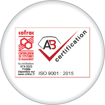 ISO 9001:2015 <br>CERTIFICATION</br>