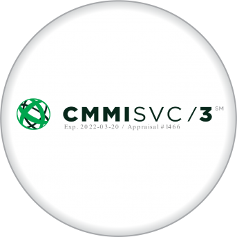CMMI SVC MATURITY <br>LEVEL 3</br>