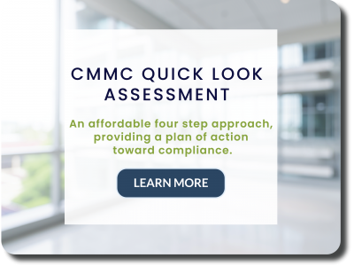 CMMC Quick Look Assessment Website Graphic