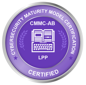 Cybersecurity Maturity Model Certification (CMMC) CMMC Training and Education Certification CMMCAB LTP LPP RP RPO C3PAO OSC Certified Assessors Licensed Instructors CMMC Standard Registered Provider Organization Licensed Training Provider Licensed Publisher Partner Certified Third-Party Assessor Organization Registered Practitioners Organizations Seeking Certifications